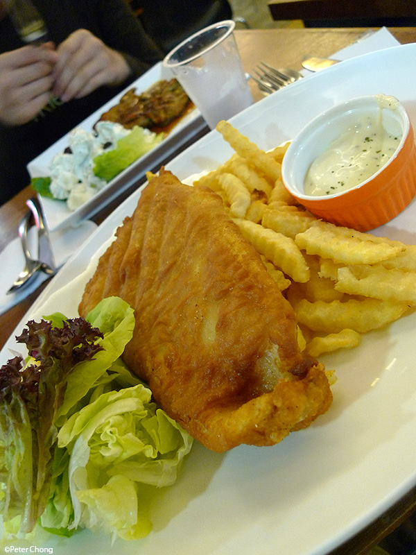 Ho chiak eighteen chefs humaritan organization or eatery for Petes fish and chips menu