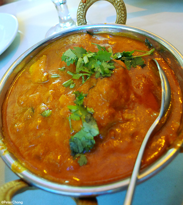 Goan Fish Curry from Dory fish fillet at Delhi Restaurant