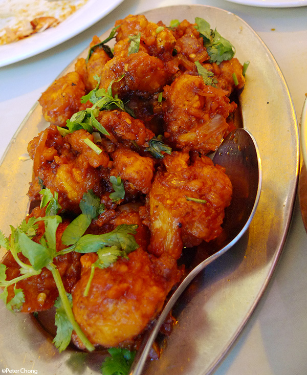 Ghobi Manchurian at Delhi Restaurant