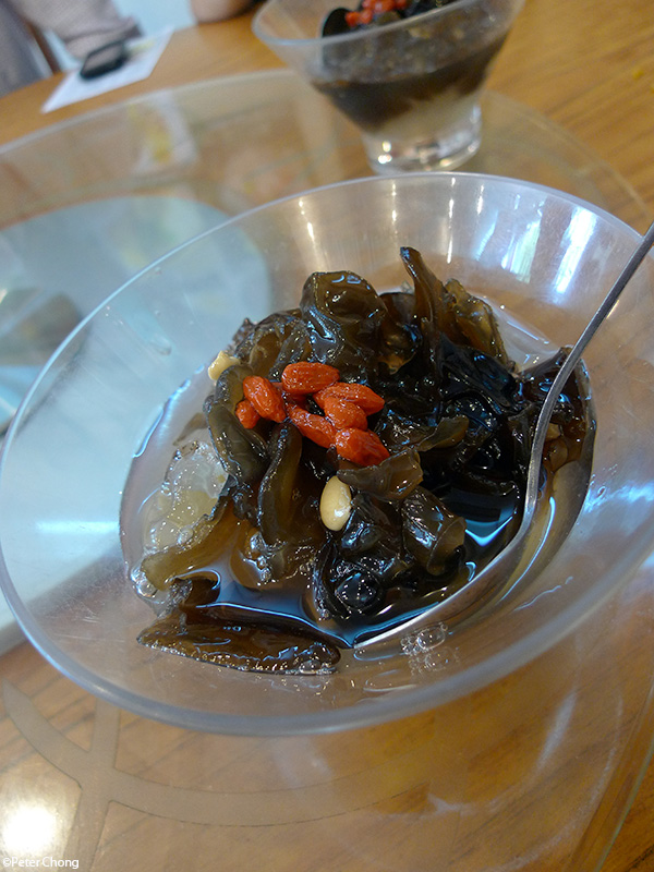 black fungus, boiled as a dessert