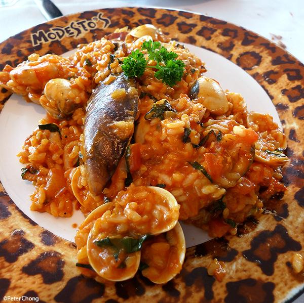 Seafood Risotto at Modesto's Vivocity