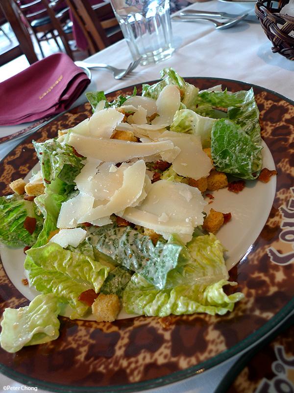 Ceasar's Salad at Modesto's Vivocity
