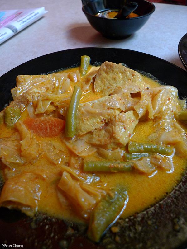 sayur lodeh at Warong M. Nasir