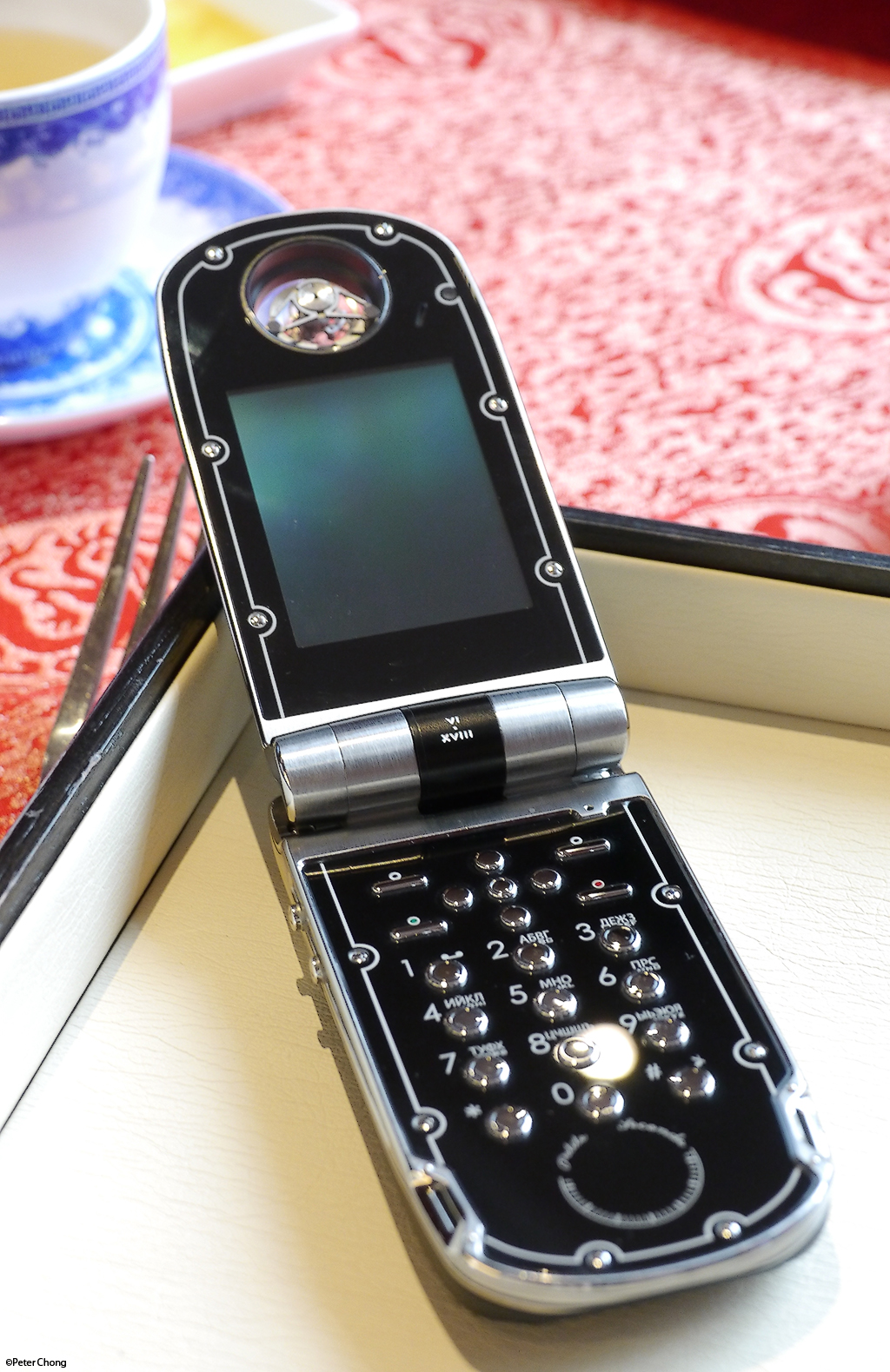 celsius x vi ii papillon tourbillon mobile phone. Black Bedroom Furniture Sets. Home Design Ideas