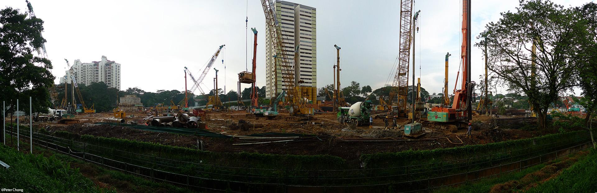 construction site singapore