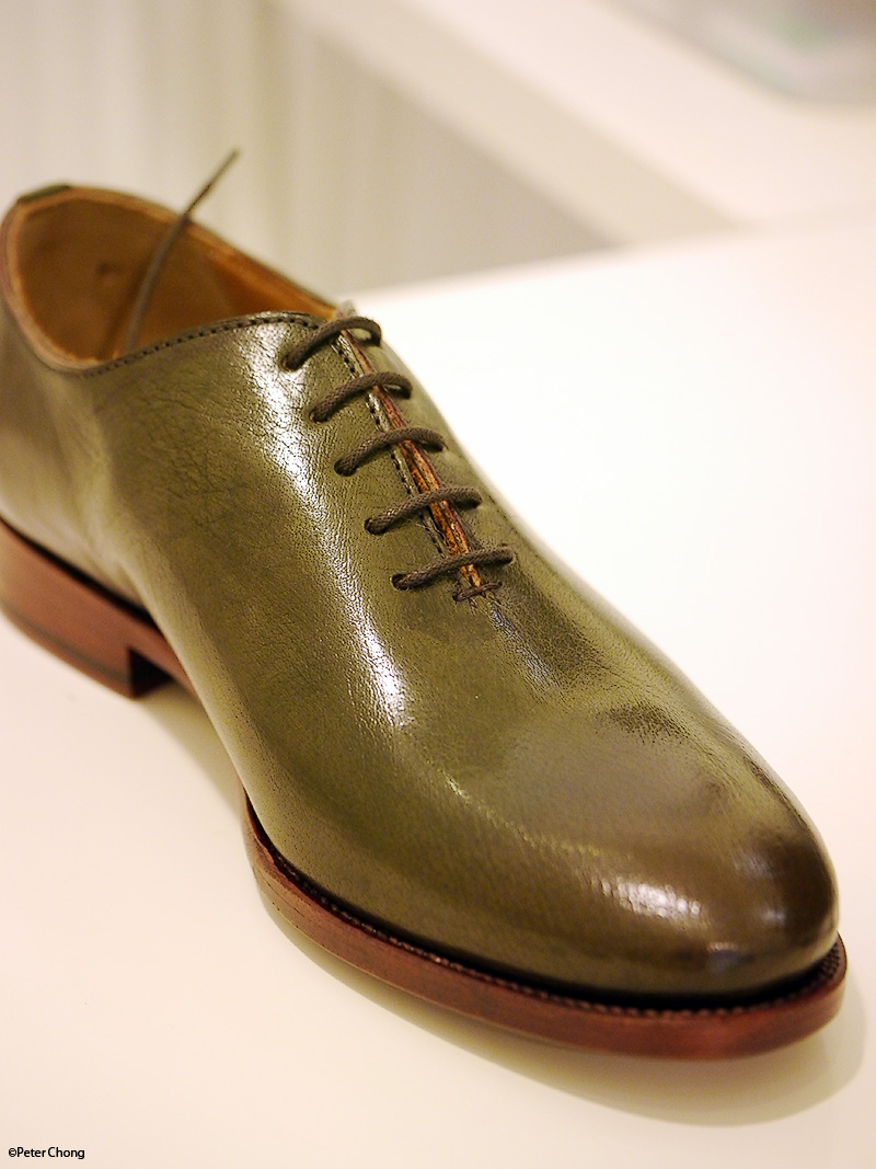 The Shoes Feature Hand Patina By Edwin Though Not As Elaborate And Achingly Beautiful Works Done On Berlutti Or Corthay Santoni