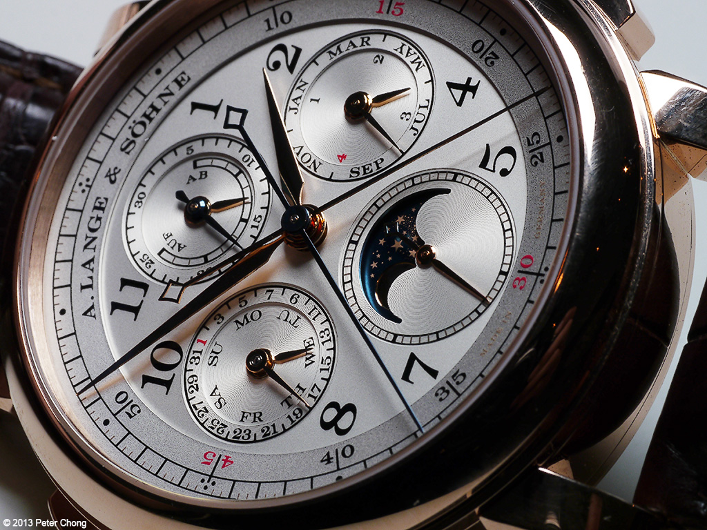 SIHH 2013: A. Lange &amp; Sohne 1815 Perpetual Calendar Rattrapante