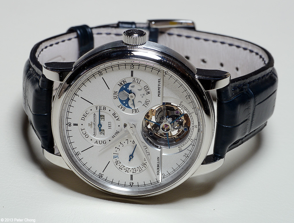 SIHH 2013: JLC Perpetual Calendar with Cylindrical ...