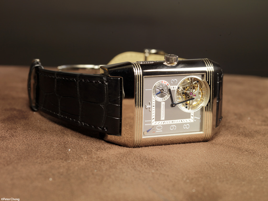 The Jaeger LeCoultre Triptyque Grand Complication - dial side