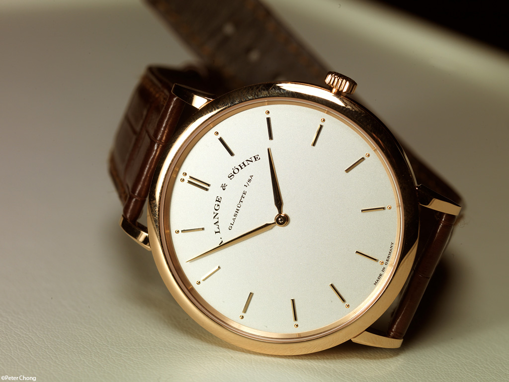 Lange Saxonia Thin in rose gold
