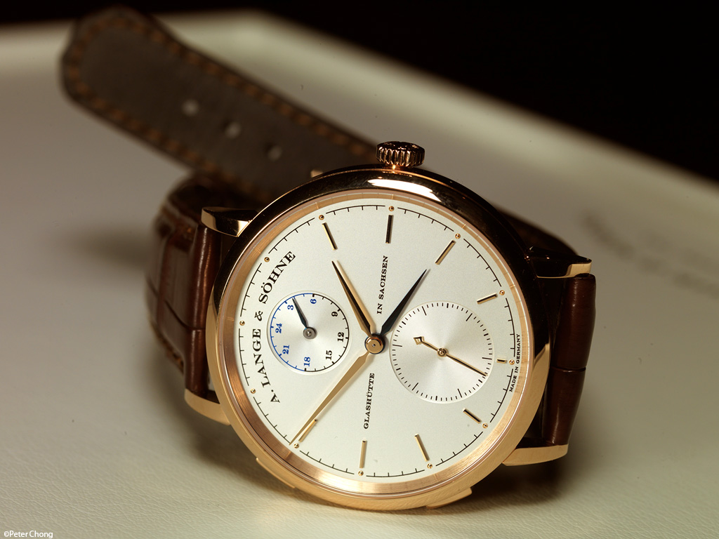 Lange Saxonia Automatic in rose gold