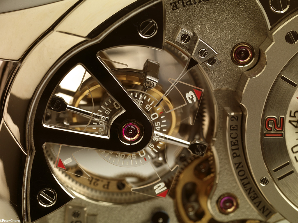 Greubel Forsey Invention Piece no. 2 double tourbillon detail