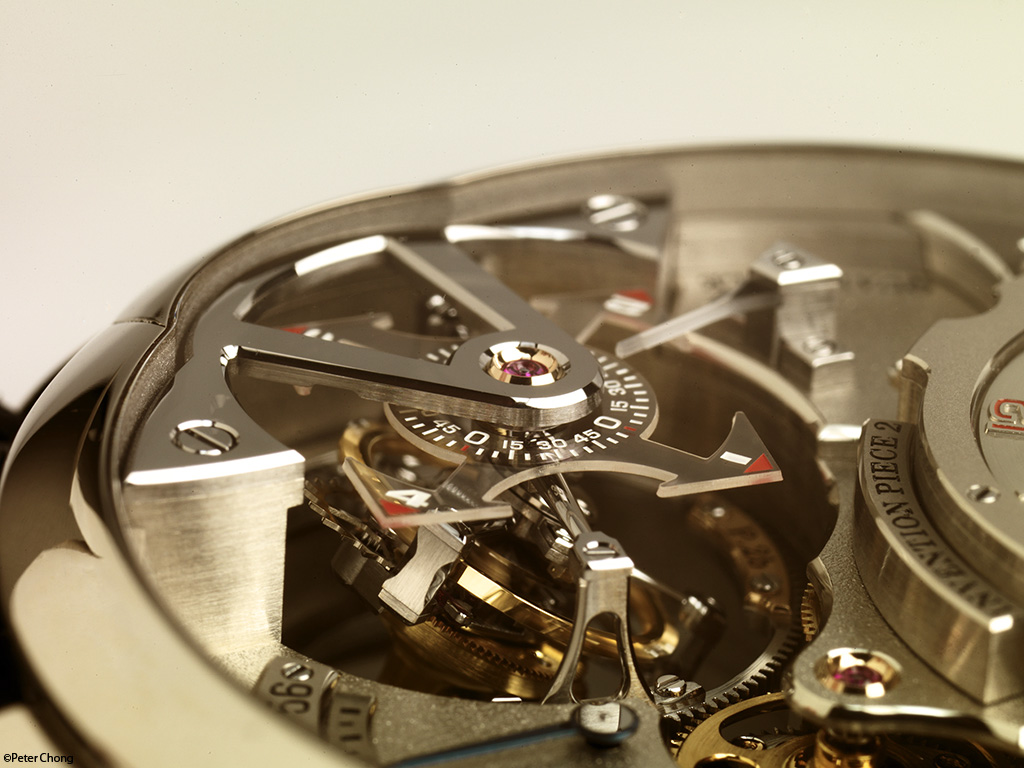 Greubel Forsey Invention Piece no. 2 dial side
