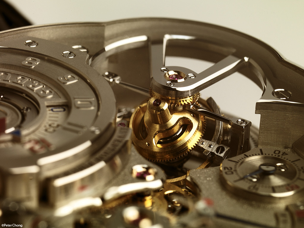 Greubel Forsey Invention Piece no. 2 tourbillon pinion