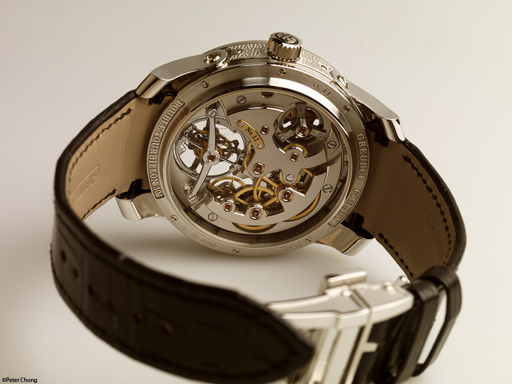 Greubel Forsey Double Tourbillon 30 degree Technique rear side