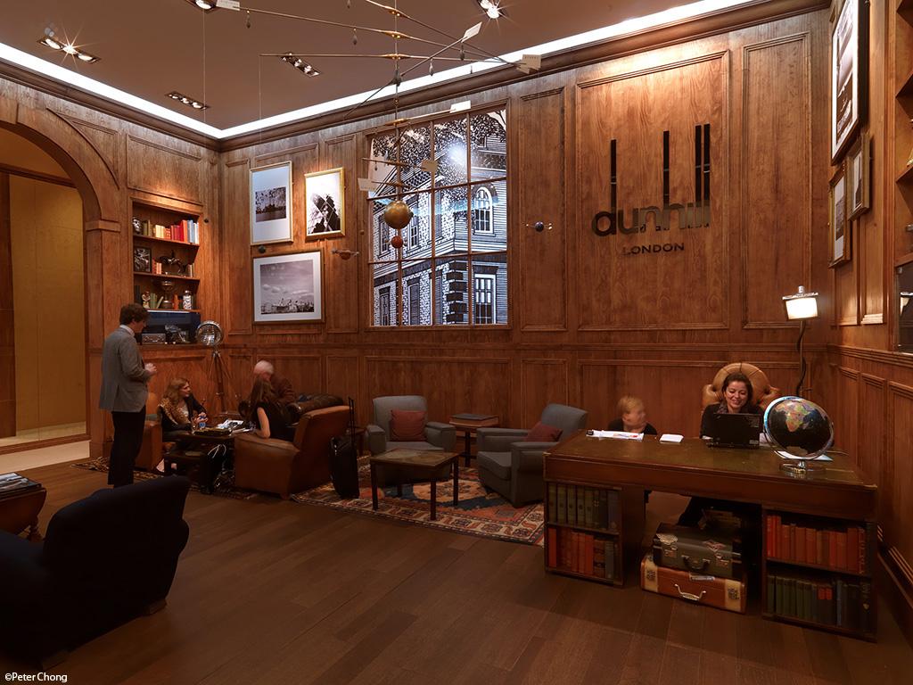 Dunhill lobby at SIHH 2011