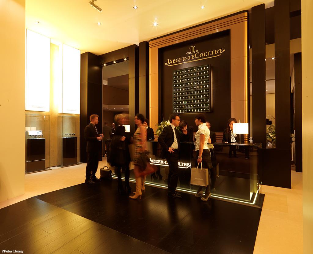 JLC lobby at SIHH 2011