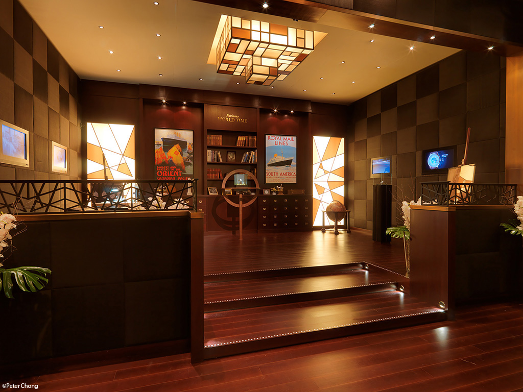 Vacheron Constantin lobby travel theme