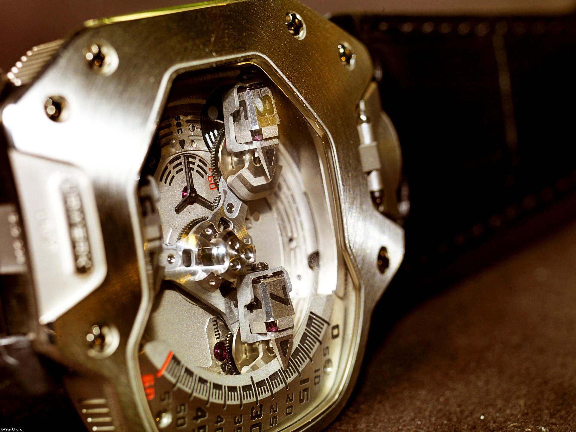 Копия часы urwerk